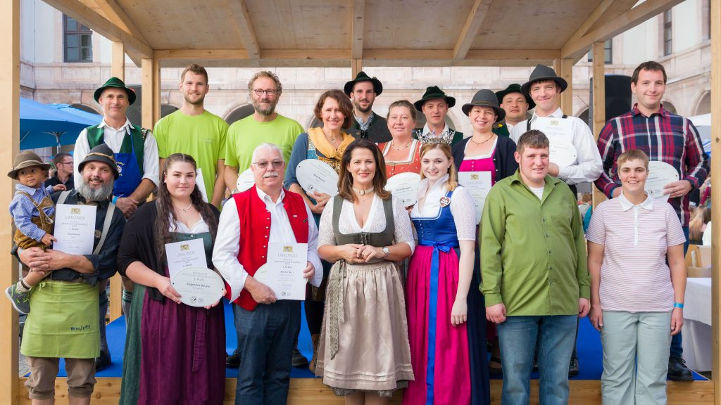 """Die Gewinner des Wettbewerbs """"Bayerische Käseschätze gesucht"""" 2019"""