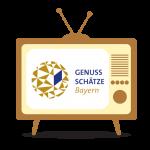 Illustration eines TV-Gerätes.